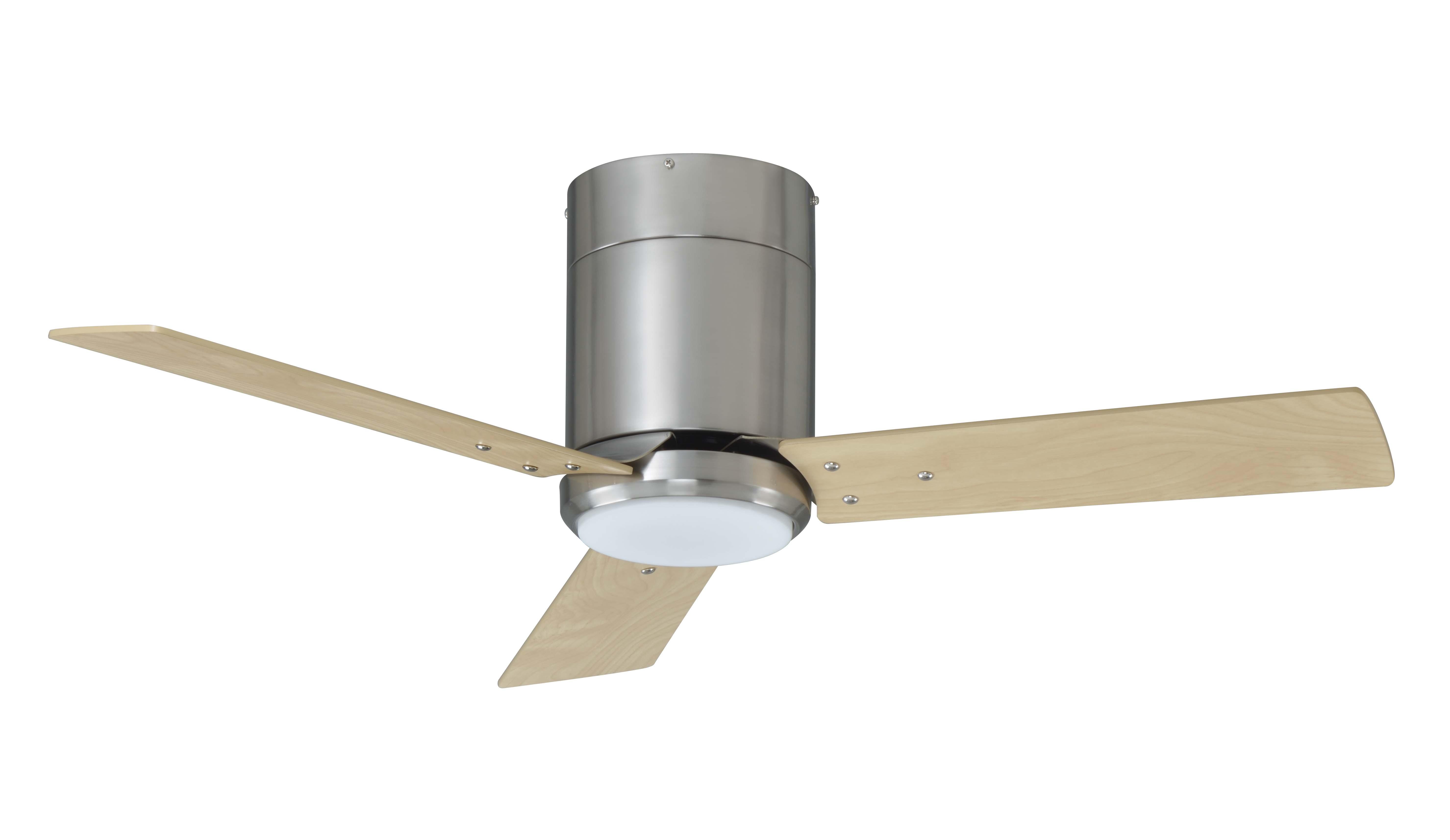 3 blade 42 in hugger fan w integrated LED light kit RP LIghting