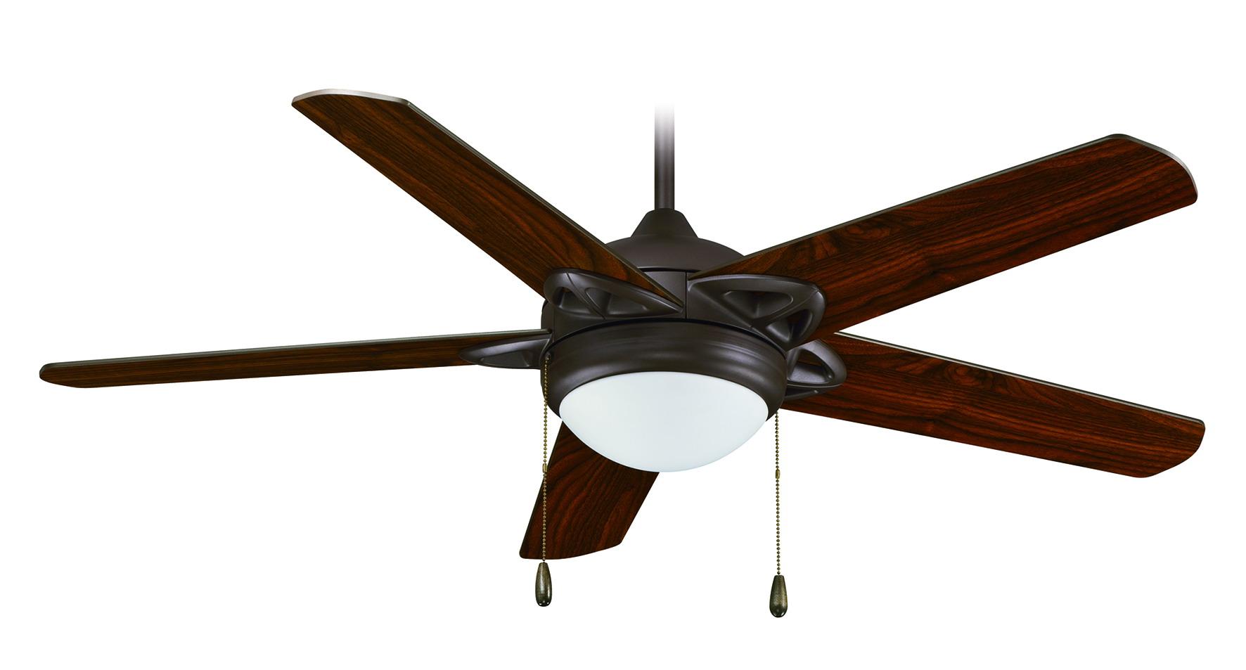 "CLOSEOUT – Titanium | 5-Blade 52"" w/2x13W GU24 Lamps - RP Lighting + ..."