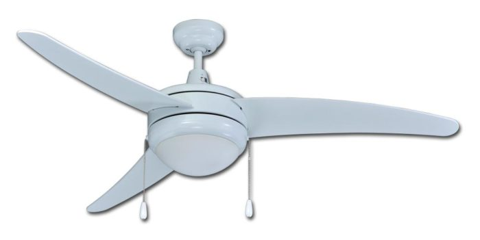 50 ceiling fan brushed nickel 1078led series curved 3blades 50u2033 w integrated light kit blades 50 in integrated light kit ceiling fans rp lighting fans