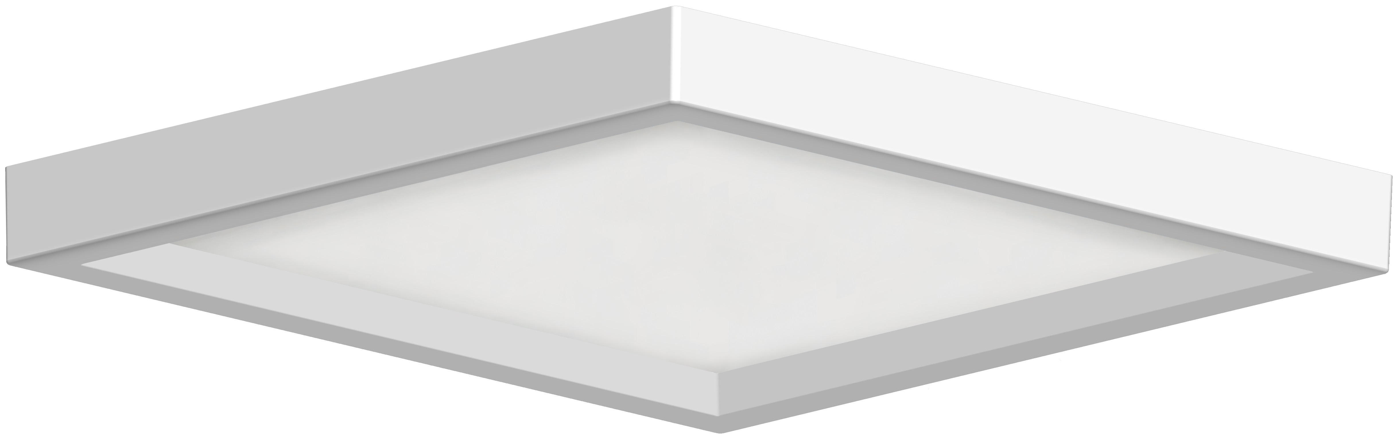 6 Low Profile Square Ceiling Mount Rp Lighting Fans