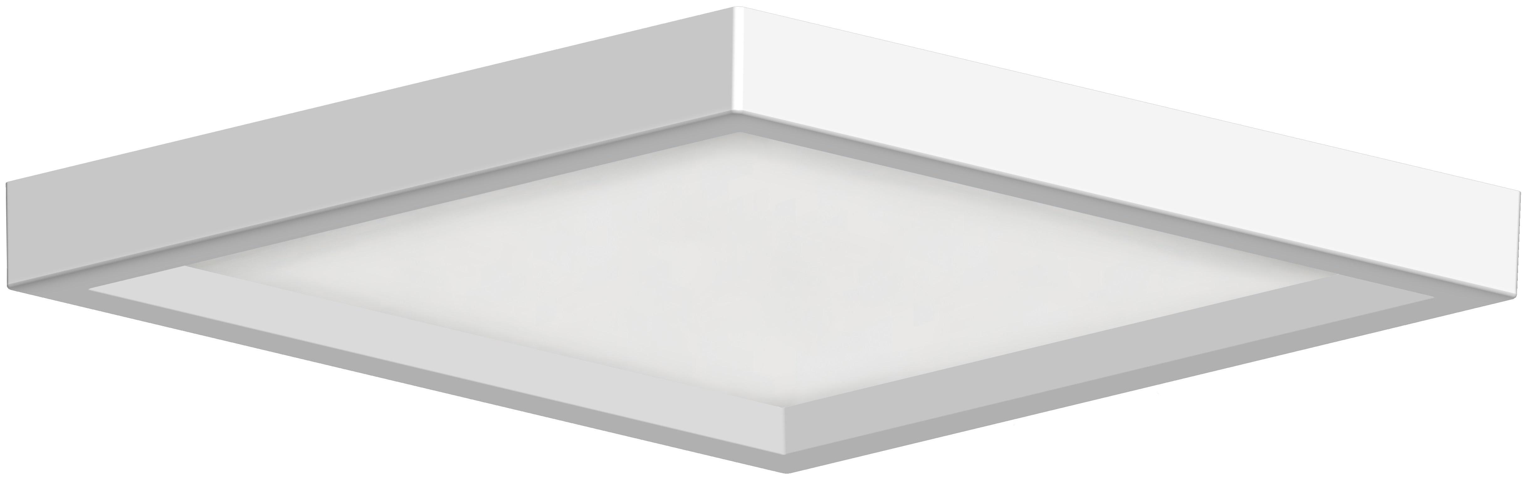 6 Low Profile Square Ceiling Mount Rp Lighting Fans