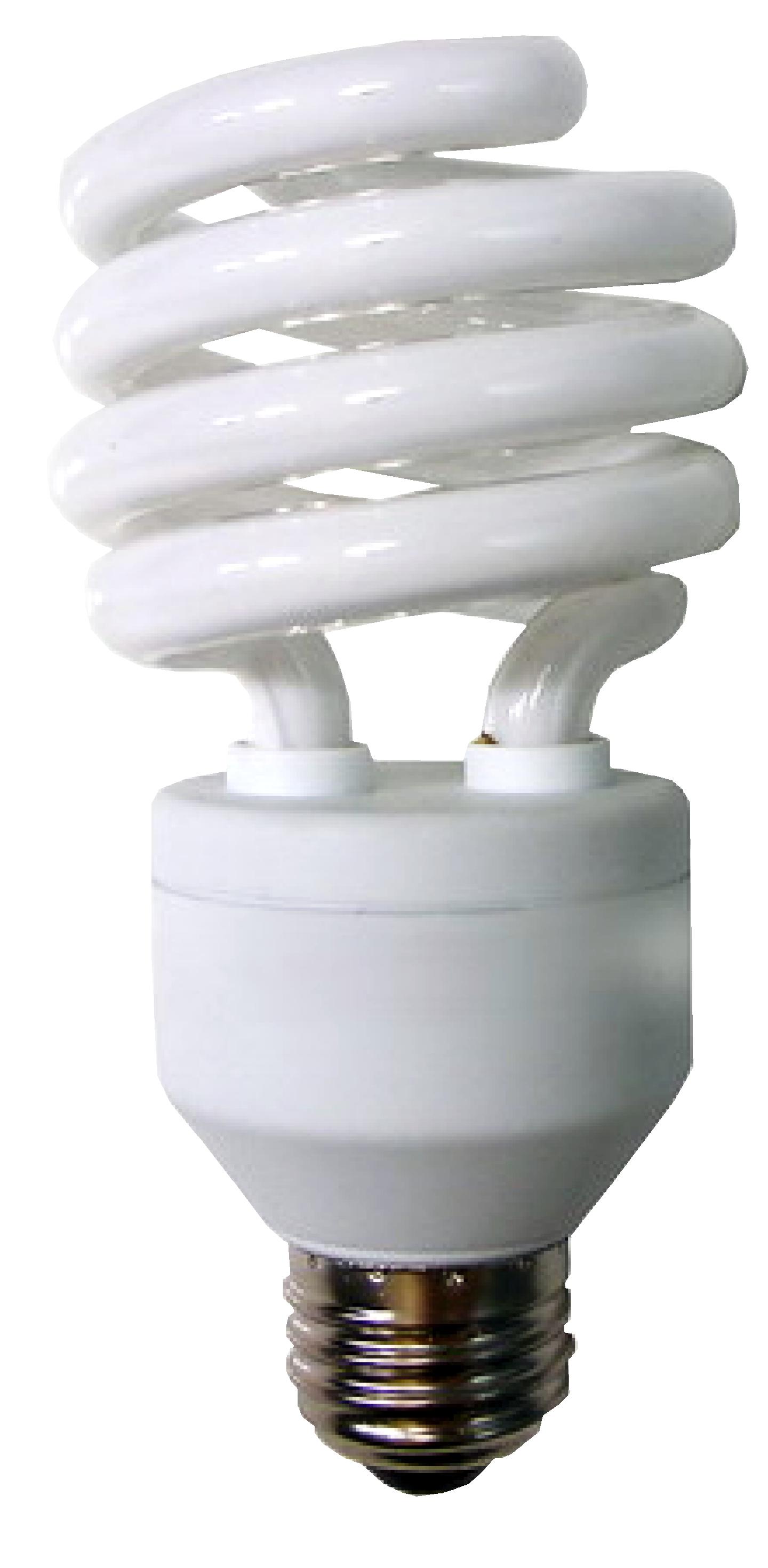 Spiral Self Ballasted Fluorescent 13w Medium Base Lamp