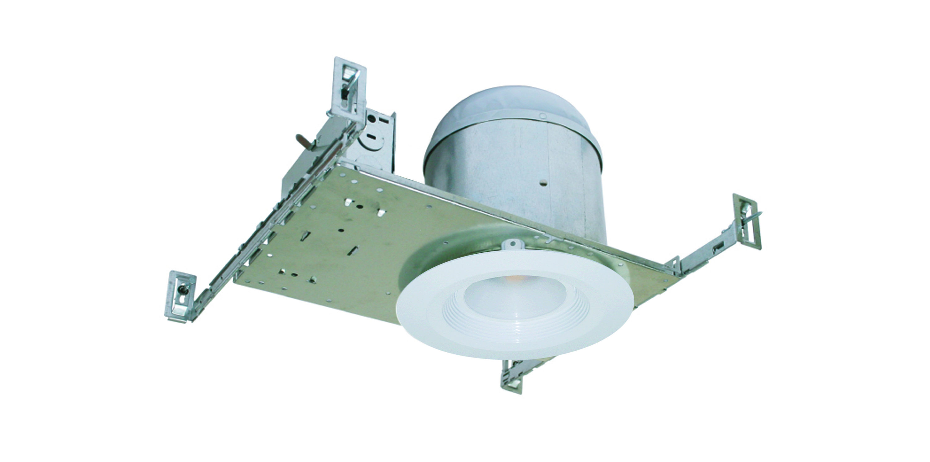 "6"" LED IC Rated New Construction Shallow Air Tight Recessed"
