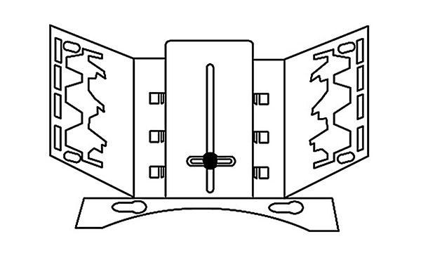 multi-channel bracket