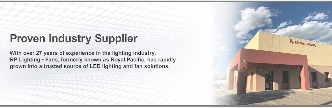 Rp Lighting Fans Supplier For Electrical Distributors